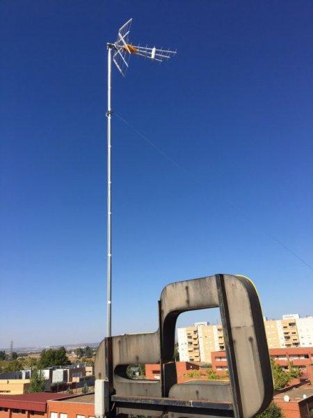 Instalación Antena TDT